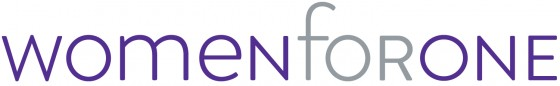 Women for One Logo