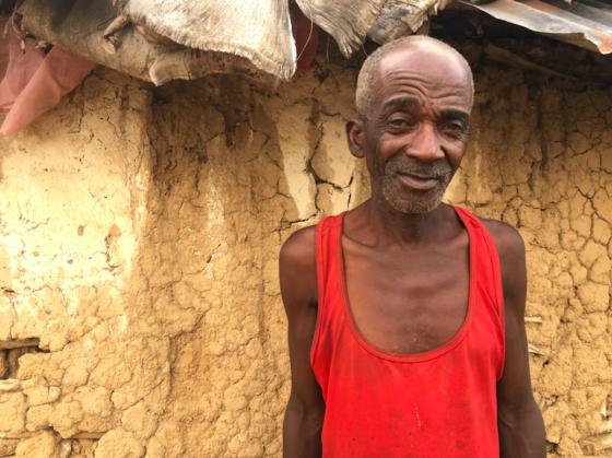 Leon Joseph in Bas Pinal Haiti